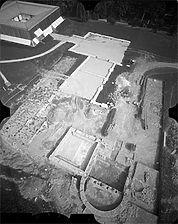 Aufnahme von West, 1982 / Römisches Kastell in 73430 Aalen