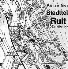 Rathaus, Lageplan, Quelle: Huxhold, Freier Architekt / Rathaus in 75015 Bretten-Ruit