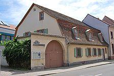 sog. Koch'sche Haus, Ansicht von Nordwesten, Urheber: Regierungspräsidium Karlsruhe, RPK, Ref. 26 / sog. Koch'sche Haus in 76661 Philippsburg