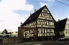 Kerns-Max-Haus, Ansicht von Südosten, Urheber: Crowell, Barbara und Robert (Diplomingenieure Freie Architekten) / Kerns-Max-Haus  in 76297 Stutensee-Blankenloch