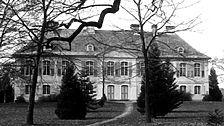 Schloss Stutensee, Ansicht von Osten, Urheber: Regierungspräsidium Karlsruhe, RPK, Ref. 26 / Schloß Stutensee in 76297 Stutensee, Schloß Stutensee