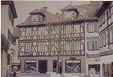 Ansicht von Norden mit Haalstraße 13 / Fachwerkhaus in 74523 Schwäbisch Hall