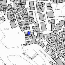 Lageplan 2007 (Vorlage LV-BW) / ehem. Haalapotheke in 74523 Schwäbisch Hall