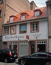 Antiqariat Buchhandlung Braun, Ansicht von Westen, Quelle: B. Smolarek. / Antiquariat Buchhandlung Braun in 76131 Karlsruhe, Innenstadt-West
