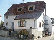 Nordansicht 2003 / Fachwerkhaus in 76229 Karlsruhe-Grötzingen