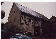 Außenansicht des Gebäudes. / Keller Scheunengebäude. in 71706 Markgröningen