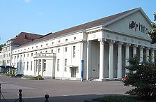 Konzerthaus, Ansicht von Nordost, 2009 / Konzerthaus in 76137 Karlsruhe, Südweststadt
