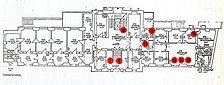 Czerny-Klinik / Samariterhas, Grundriss EG,  Urheber: Richter, Hans + Friedmann, Walter, Architekturbüro / Czerny-Klinik / Samariterhaus in 69115 Heidelberg-Bergheim