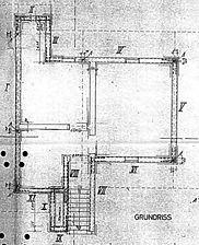 HOESCH, Bungalow Typ 109 K, Grundriss, Urheber: INWO-Bau-GmbH / HOESCH-Bungalow Typ 109 K in 69120 Heidelberg-Neuenheim