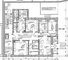 ehem. Wohnhaus, Arztpraxen, Grundriss, EG, Urheber: Barthel, Wolfgang (Freier Architekt)  / ehem. Wohnhaus in 69115 Heidelberg-Weststadt