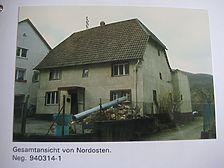 Foto: Dr. Hans-Hermann Reck, Büro für bauhistorische Gutachten (aus der Dokumentation abfotografiert) 7/1994 / Fachwerkhaus in 74821 Mosbach, Neckarelz