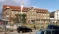 Neue Medizinische Klinik, Geb.-Nr. 4190, heute Psychiatrische Ambulanz, Ansicht von Süden,  Urheber: Regierungspräsidium Karlsruhe, RPK, Ref. 26 / Neue Medizinische Klinik, Geb.-Nr. 4190, Psychiatrische Ambulanz in 69115 Heidelberg-Bergheim
