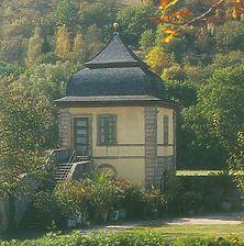 Unterer Pavillon (Grottenpavillon) im Schlossgarten Weikersheim / Unterer Pavillon (Grottenpavillon) in 97990 Weikersheim