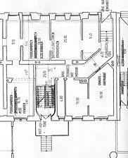 Wohnhaus, Grundriss EG, Urheber: Vaculik, Hubert (Restaurator)  / Wohnhaus in 69115 Heidelberg-Weststadt