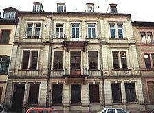 Wohnhaus, Ansicht von Osten, Urheber: Vaculik, Hubert (Restaurator) / Wohnhaus in 69115 Heidelberg-Weststadt