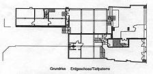 Wohn- und Geschäftshaus mit Anbau, Grundriss EG, Urheber: Eichhorn (Architekturbüro) / Wohn- und Geschäftshaus in 69117 Heidelberg-Altstadt