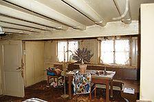 Stube mit Bohlenbalkendecke / Rebfischerhaus in 78479 Reichenau, Niederzell