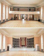 ehem. Lutherhaus, 1. OG. Großer Saal,  Urheber: Schröder Stichs Volkmann (freie Architekten) / ehem. Lutherhaus in 69115 Heidelberg-Bergheim