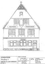 """Gasthaus """"Zum Sepp'l"""", Nordansicht von 1998,  Urheber: Maier, Hansjörg +Partner (Freier Architekt) / Gasthaus """"Zum Sepp'l"""" in 69117 Heidelberg-Altstadt"""