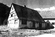 Eindachhof. Ansicht von Osten. 2000. / Eindachhof in 72525 Münsingen, Gundelfingen