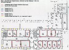 ehem. reformiertes Spital, Grundriss, EG, Urheber: Schröder Stichs Volkmann (freie Architekten) / ehem. reformiertes Spital in 69117 Heidelberg-Altstadt