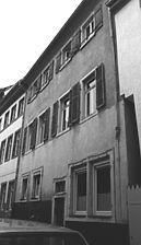 Wohnhaus Urheber: Regierungspräsidium Karlsruhe, RPK, Ref. 26 / Wohnhaus in 69117 Heidelberg-Altstadt