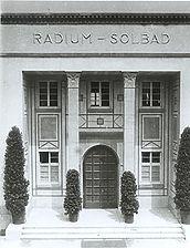 Radium-Solbad, Heidelberg, Eingangshalle / Ehem. Radium-Solbad in 69115 Heidelberg-Bergheim, Altstadt