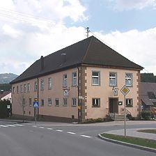 Ansicht von Westen / Gasthaus Schlössle in 78669 Wellendingen