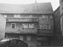 Mühlenstraße 23, Rückseite, aufgen. 1985 Quelle: Bildarchiv Foto Marburg / Wohnhaus in 74706 Osterburken