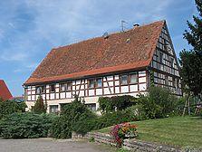 Ansicht von Südosten (2009) / Wohnhaus in 97993 Creglingen, Brauneck