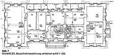 Rathaus, ehem. Neue Schloß, Grundriss, EG, Urheber: Crowell Architekten / Rathaus, ehem. Neue Schloß in 69502 Hemsbach