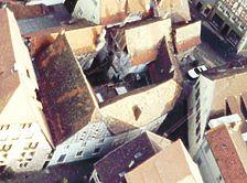 Steinhaus einer ehem. Hofanlage, Draufsicht, Urheber: Regierungspräsidium Karlsruhe, RPK, Ref. 26 / Steinhaus einer ehem. Hofanlage  in 68526 Ladenburg