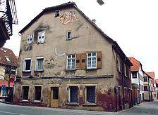 ehem. Rathaus, Ansicht von Südwesten, Urheber: Reck, Hans-Hermann (Büro für Bauhistorische Gutachten)  / ehem. Rathaus in 74924 Neckarbischofsheim