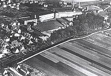 Firma Schachenmayr zwischen 1921 – 1933 / Wollsortiergebäude Schachenmayr  in 73084 Salach