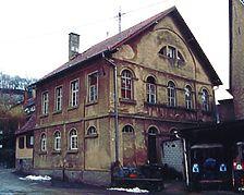 Ehem. Synagoge, Ansicht von Nordwesten Quelle: Crowell, Barbara und Robert (Diplomingenieure Freie Architekten) / ehem. Synagoge in 74889 Sinsheim-Rohrbach