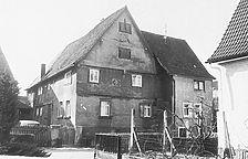 Lindengasse 6, Wohnhaus  / Wohnhaus in 74821 Mosbach, Neckarelz (22.09.1983 - Bildarchiv Foto Marburg)