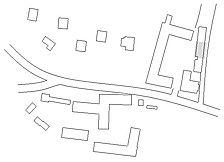 Lage der Gestütswärter Wohnung - Wagenremisse (strebewerk 2009) / Gestütswärter Wohnung - Wagenremise in 72532 Gomadingen, Marbach an der Lauter, Landgestüt