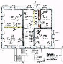 Altes Rentamt, Befundplan, Grundriss, EG Quelle: Säubert, Bernd und Lorenz, Stefan (Karlsruhe) / Altes Rentamt in 74889 Sinsheim-Ehrstädt