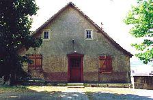 ehem. Wohnhaus, Ansicht von Norden  Urheber: Reck, Hans-Hermann (Büro für Bauhistorische Gutachten) / ehem. Wohnhaus in 74889 Sinsheim-Hilsbach