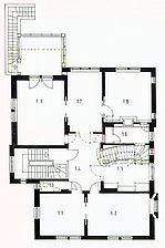 Wohnhaus, Grundriss, 1. OG Quelle: Susanne Fischer-Tsaklakidis (freie Architektin) / Wohnhaus in 69469 Weinheim
