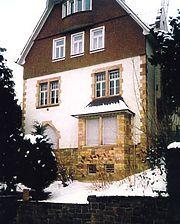 Wohnhaus, Ansicht von Westen Quelle: Susanne Fischer-Tsaklakidis (freie Architektin) / Wohnhaus in 69469 Weinheim