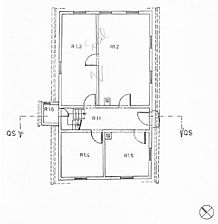 Wohnhaus, Grundriss EG Quelle: Hans-Hermann Reck / Wohnhaus in  6946 Weinheim