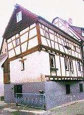 Ehem. Gerberhaus, Ansicht von SW Quelle: Helmut Medelsky (Architekt) / ehem. Gerberhaus in 69469 Weinheim