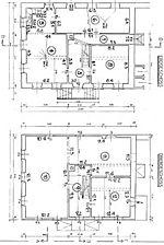 Ehem. Gasthaus Zur Krone, Grundrisse, EG und OG Quelle: Bunz & Richter (freie Architekten) / ehem. Gasthaus Zur Krone in 69257 Wiesenbach