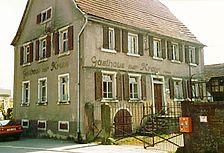 Ehem. Gasthaus Zur Krone, Ansicht von NO Quelle: Bunz & Richter (freie Architekten) / ehem. Gasthaus Zur Krone in 69257 Wiesenbach