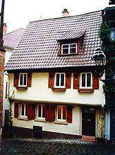 Wohnhaus, Ansicht von Westen Quelle: G.L. & H.-P. Wolf (freie Architekten) / Wohnhaus in 69469 Weinheim
