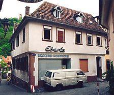 Wohn- und Geschäftshaus, Ansicht von NW Quelle: Hans-Hermann Reck (Büro für bauhistorische Gutachten) / Wohn- und Geschäftshaus in 69469 Weinheim