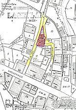 Wohnhaus, Lageplan, Urheber: Hornbacher, Eduard und Hornbacher, Joachim, (Freie Architekten und Stadtplaner) / Wohnhaus in 78378 Bad Liebenzell