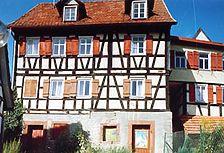 Wohnhaus, Ansicht von Osten, Urheber: Hornbacher, Eduard und Hornbacher, Joachim, (Freie Architekten und Stadtplaner) / Wohnhaus in 78378 Bad Liebenzell