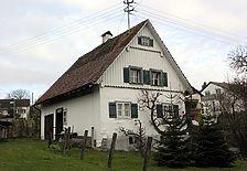 Südgiebel und westl. Traufseite / Wohnstallhaus in 88048 Friedrichshafen-Ailingen, Unterraderach